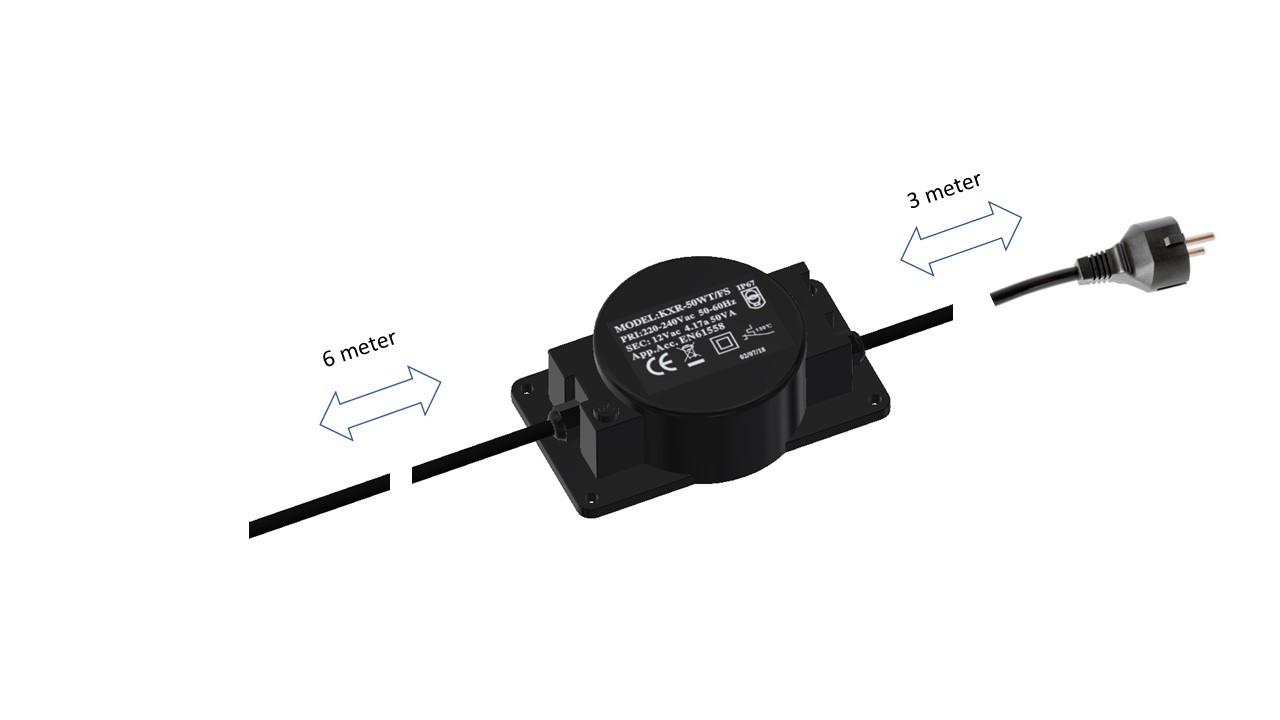 Driver til LED pærer for 12V bedlamper