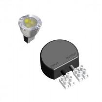 LED konvertering til Sanina væg lampe